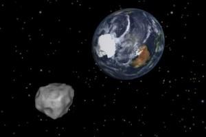 Asteroide si avvicina alla Terra: lunedì alle 16:45 il momento del passaggio