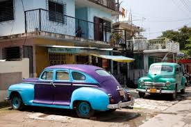 Vecchie auto a Cuba