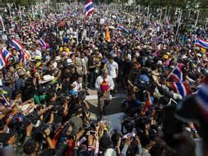 Protesta in Bangkok