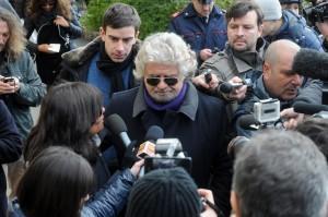 """Beppe Grillo: """"Alle europee vinciamo, oppure tolgo il disturbo"""""""