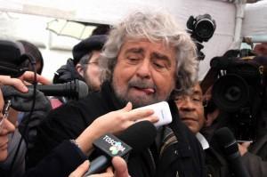 """Beppe Grillo: """"Mps va nazionalizzata subito. O sarà preda della Germania"""""""