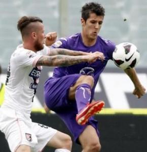 Calciomercato Fiorentina, Jovetic più di un sogno, Papu Gomez nel mirino (LaPresse)