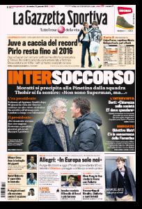 Calciomercato Inter, Moratti si precipita alla Pinetina in soccorso di Mazzarri (Gazzetta dello Sport)