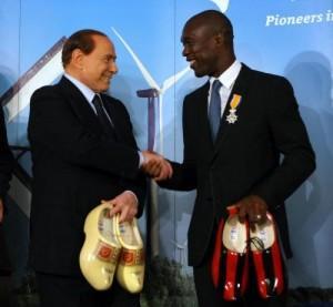 Calciomercato Milan, Clarence Seedorf: ecco come giocherà l'uomo di Berlusconi (LaPresse)