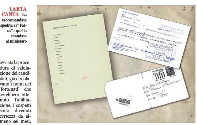 Università, Il Fatto: Prof, test col trucco: nomi scritti prima della selezione