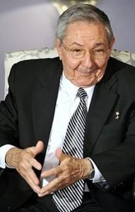 Il leader cubano Raoul Castro