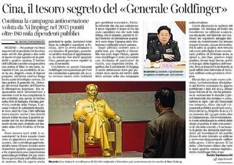 Cina, il tesoro segreto del Generale Gu Junshan