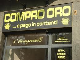 """""""Compro oro"""" spariti: 3 su 10 hanno chiuso, prezzo del metallo in picchiata"""