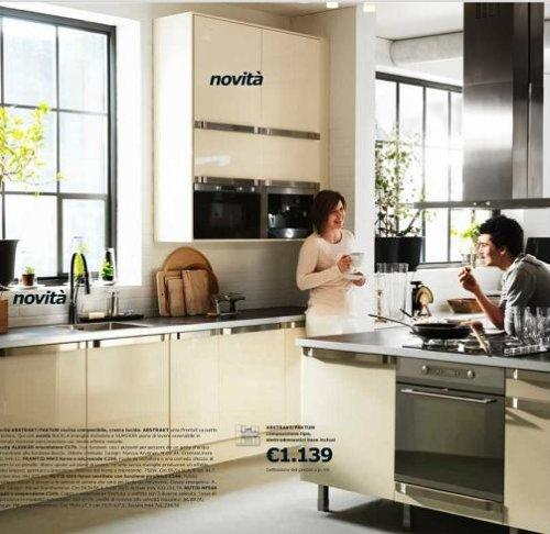Una cucina dal catalogo Ikea