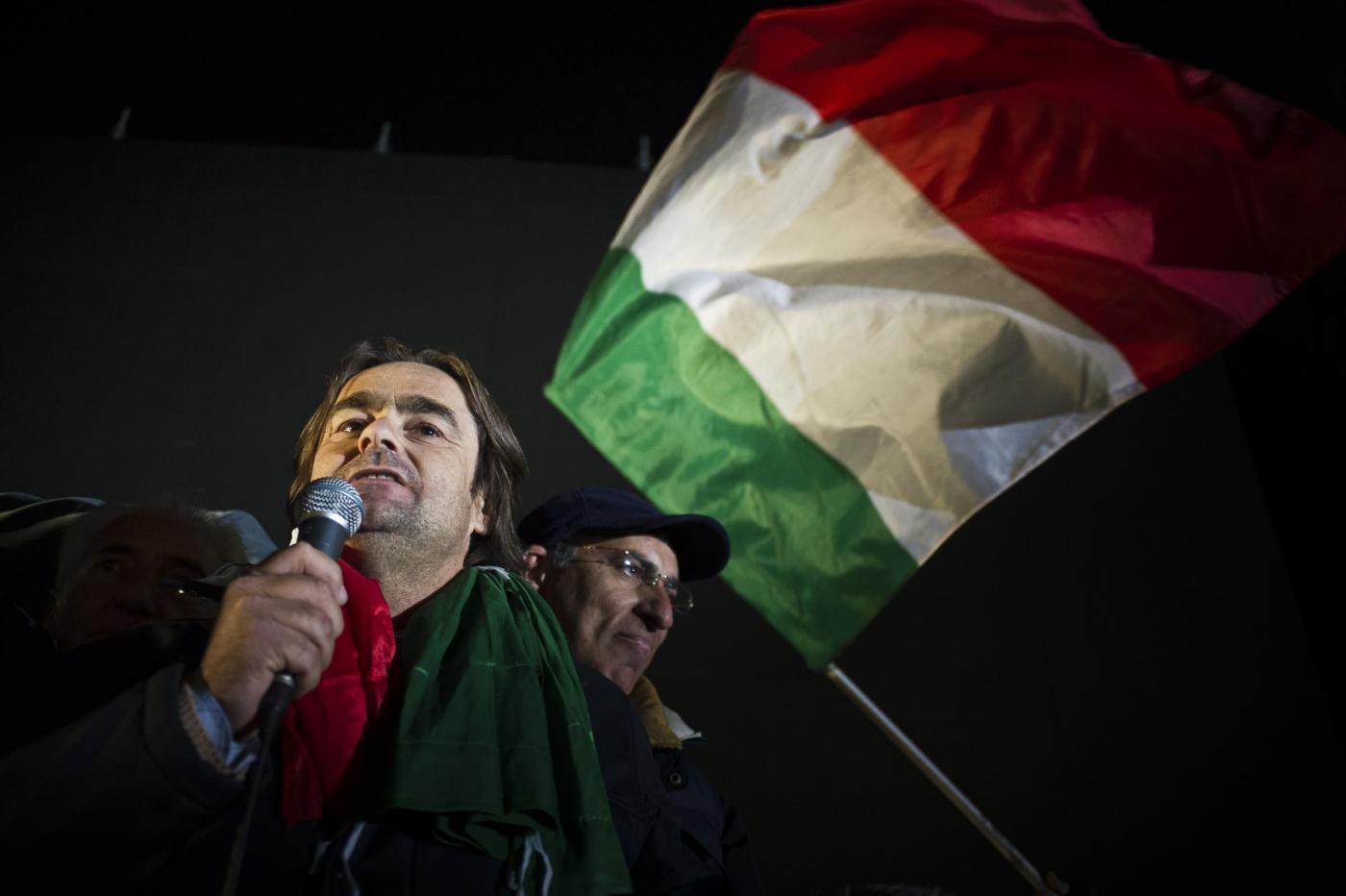 Movimento dei Forconi, Danilo Calvani a Palermo: pronti a nuove proteste