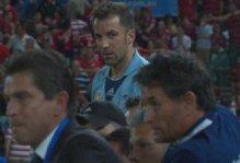 Sydney, Del Piero infuriato: la sostituzione nel derby è troppo