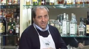 Antonio Di Pietro barista nello spot Idv