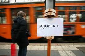 Sciopero nazionale trasporti 24 gennaio 2014: fasce garantite metro, bus, tram