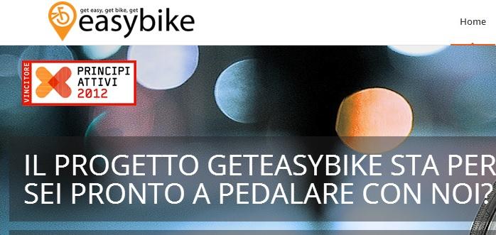 Geteasybike, bike sharing interattivo: a Bari sblocchi la bici con un clic