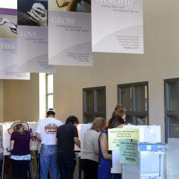 elezioni usa urne ansa