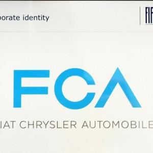 Il logo di Fiat Chrysler