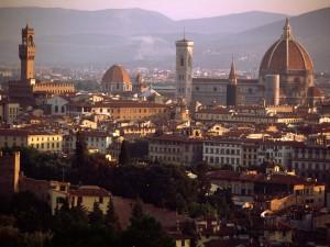 "Vacanze Natale, Firenze città ""del sorriso""."