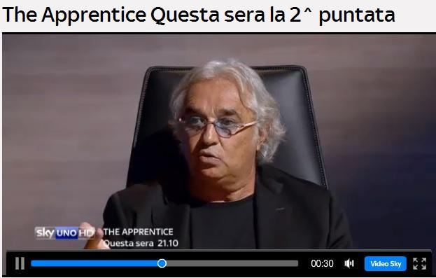 Flavio Briatore, maestro di vita