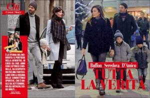 Gigi Buffon-Alena Seredova: non solo Ilaria D'Amico, crisi già dal 2011