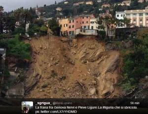 Maltempo, Italia sotto la pioggia: frane e allagamenti, due dispersi