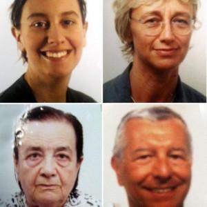Giulia Garattini, Letizia Maggio, Daria Maccari e Daniele Garattini