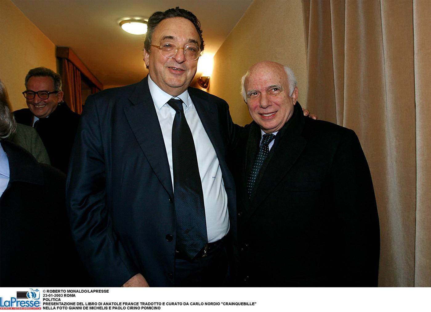"""Gianni De Michelis: """"Non ero avanzo di galera, ero avanzo di... balera"""""""