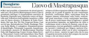"""Massimo Gramellini , Buongiorno sulla Stampa: """"L'uovo di Mastrapasqua"""""""