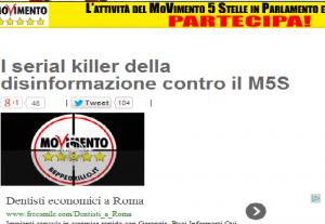 """Beppe Grillo: """"Non comprate Repubblica e La Nazione, fanno disinformazione"""""""