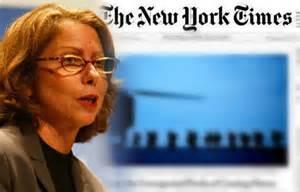 La direttrice del New York Times Jill Abramson