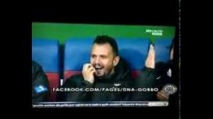 Juventus, Andrea Pirlo e Simone Pepe imitano Antonio Conte (video)