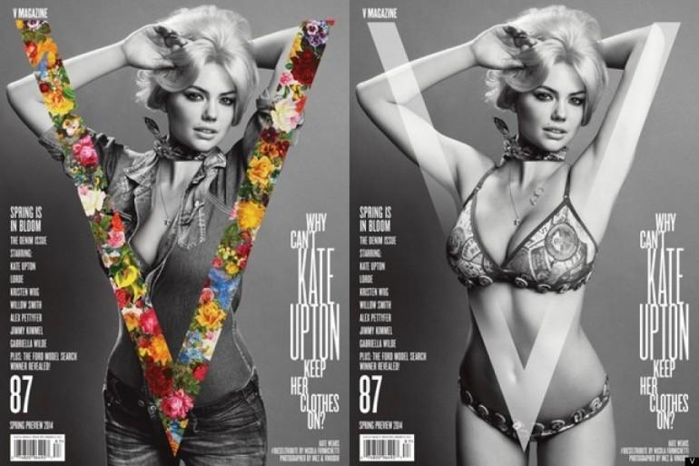 kate upton copertina v magazine