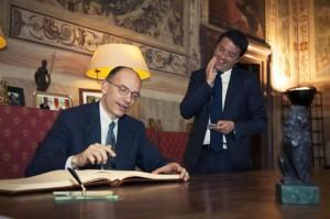 """Matteo Renzi: """"Se Letta si logora è per le cose che fa o non fa"""""""