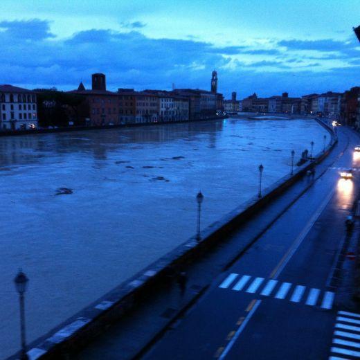 Maltempo Pisa