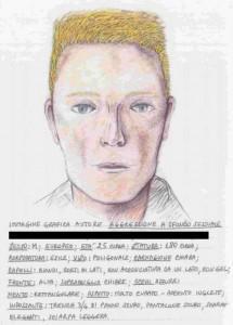 L'identikit che ha portato all'arresto del presunto maniaco di Bologna