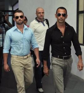 I due marò detenuti in India