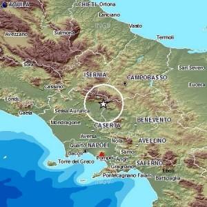Terremoti, sud Italia: 130 scosse in un mese, 70 solo tra Molise e Campania