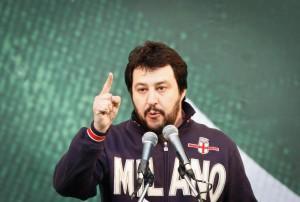 """Lega Nord, Salvini: """"Alleanze? Noi liberi e forti, non siamo legati a nessuno"""""""