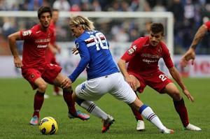 """Maxi Lopez: """"Wanda Nara? No, amo la Sampdoria"""" (LaPresse)"""