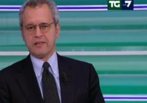 Enrico Mentana attacca Giovanni Toti
