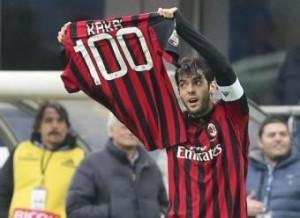 Milan-Atalanta 3-0, Kakà 100 e Cristante: gol speciali a San Siro (LaPresse)