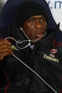 Milan, prima da allenatore per Clarence Seedorf (LaPresse)