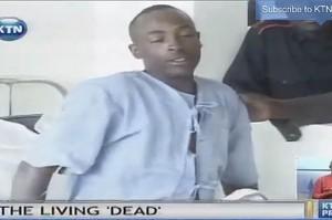Ecco l'uomo che s'è svegliato in obitorio (video). Procura Nairobi indaga