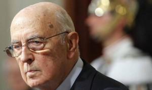 """Giorgio Napolitano a M5s: """"Impeachment? Faccia il suo corso"""""""