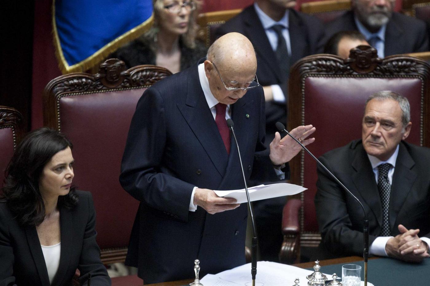 Camera - giuramento Presidente della Repubblica