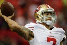 NFL. L'incredibile passaggio in sospensione di Collin Kaepernick