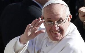 Papa Francesco riceve dirigenti Rai, invitate le famiglie...no a coppie di fatto