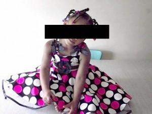 Payton Benson, 5 anni, uccisa da raffica di proiettili mentre faceva colazione