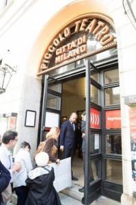 Al Piccolo Teatro di Milano posti prenotati online in base all'altezza