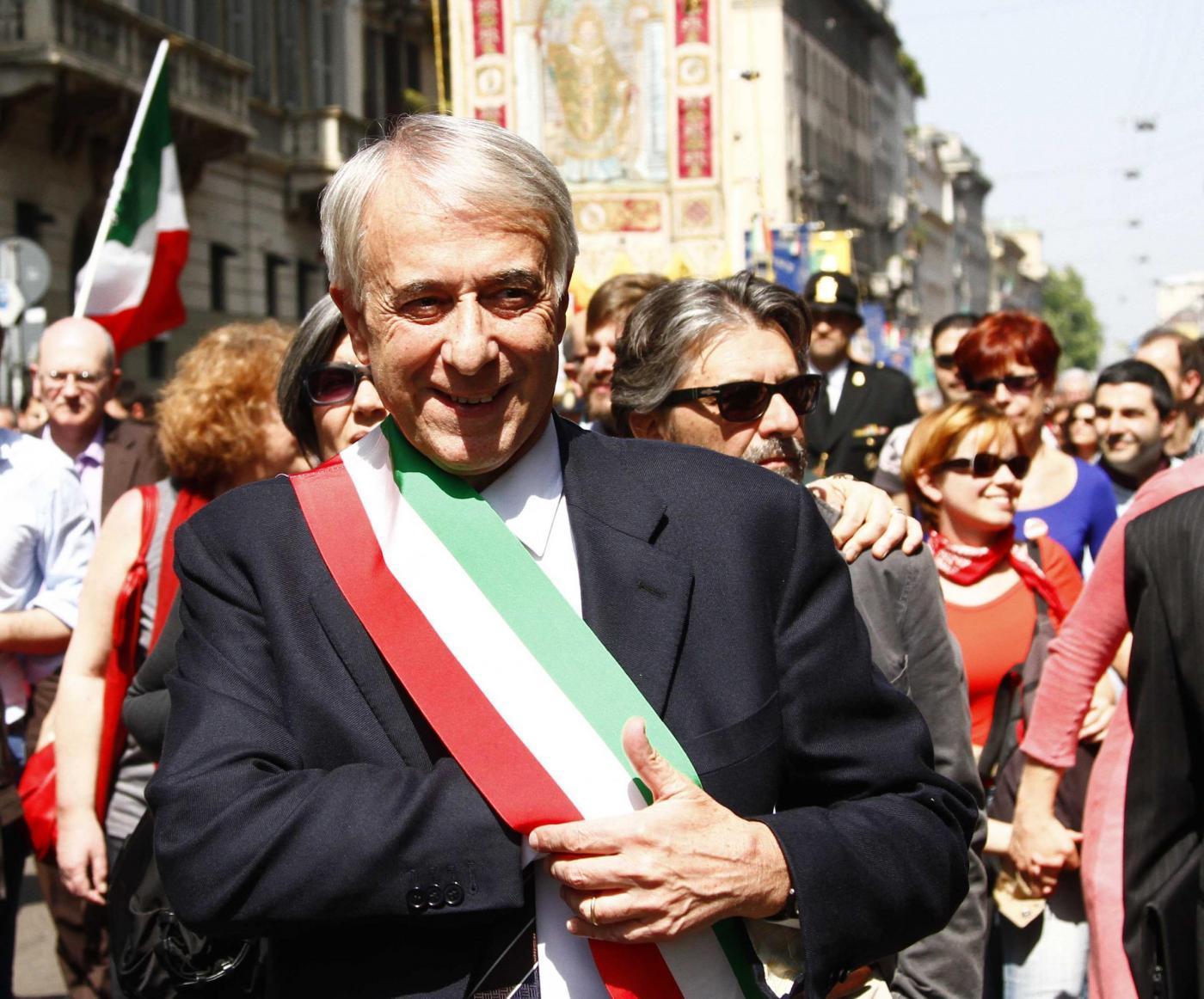 Festa della Liberazione a Milano,la manifestazione e i comizi in Piazza Duomo