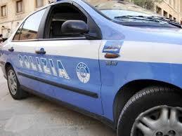 polizia auto lato